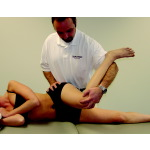 Suspected Intra-articular Pathology: Flexion-Adduction-Internal Rotation Test (Click Test)
