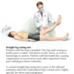 Illustration of Straight Leg Test from the Netter Collection