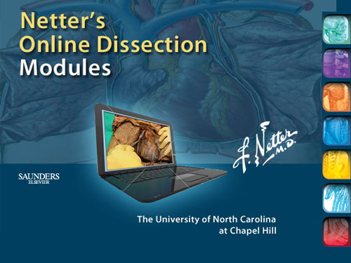 Netter's Online Dissection Modules on NetterReference.com