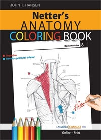 Anatomy Coloring Book - Hansen 1E