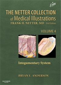 Collection of Medical Illustrations, Integumentary System - Volume 4 - 1E
